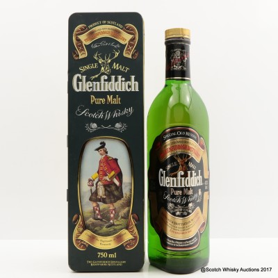Glenfiddich Clans Of The Highlands Of Scotland Clan Kennedy 75cl
