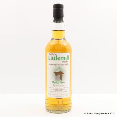 Littlemill 1990 21 Year Old Whisky Broker