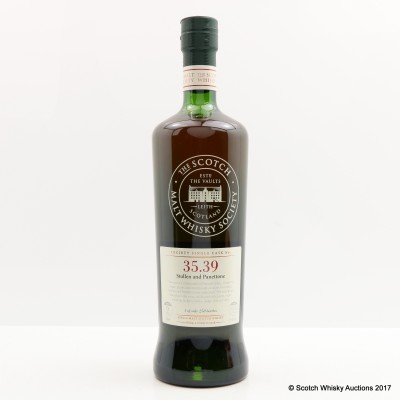 SMWS 35.39 Glen Moray 9 Year Old