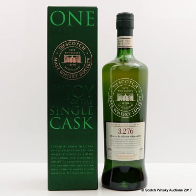 SMWS 3.276 Bowmore 1998 17 Year Old