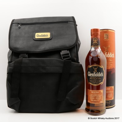 Glenfiddich 14 Year Old Rich Oak & Glenfiddich Backpack