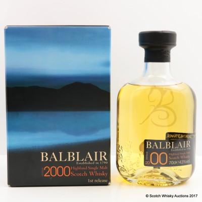 Balblair 2000 1st Release