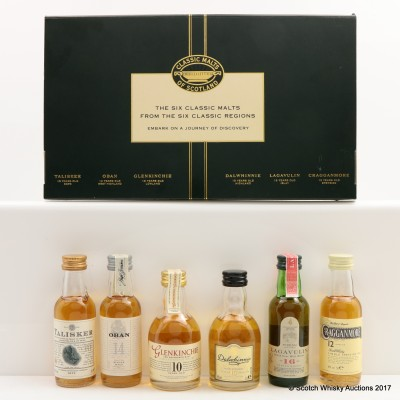 Classic Malt Collection 6 x 5cl