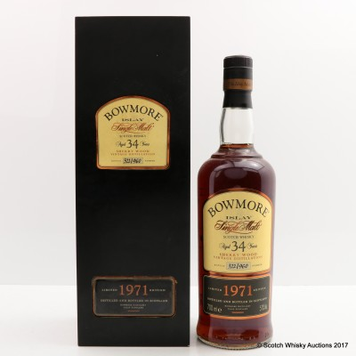 Bowmore 1971 34 Year Old