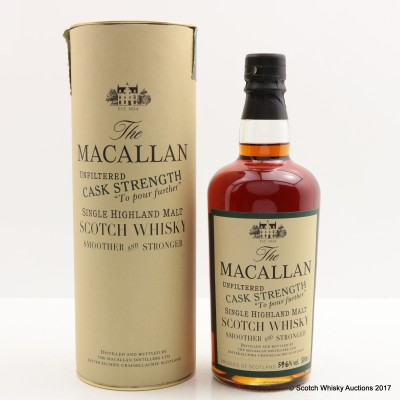 Macallan 1990 Cask Strength 50cl
