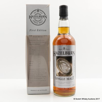 Hazelburn 8 Year Old First Edition The Casks