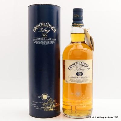 Bruichladdich 10 Year Old Tall Bottle 1L