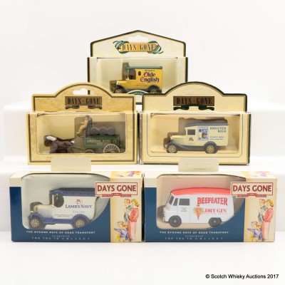 Assorted Miniature Days Gone By Vans x 5