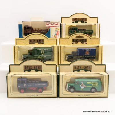 Assorted Miniature Days Gone By vans x 6