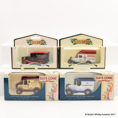 Assorted Miniature Days Gone By Vans x 4