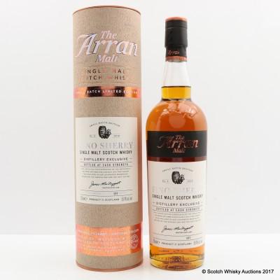 Arran Distillery Exclusive Fino Sherry Batch #2