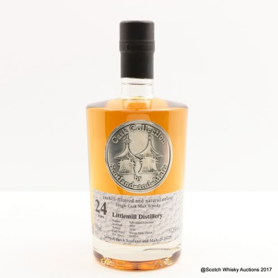 Littlemill 1992 24 Year Old Cask Collection By Scotland And Malts 50cl