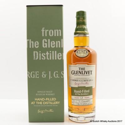 Glenlivet 18 Year Old Hand Filled Distillery Only Cask #1