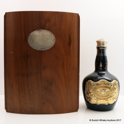 Royal Salute 50 Year Old The Coronation Cask Decanter