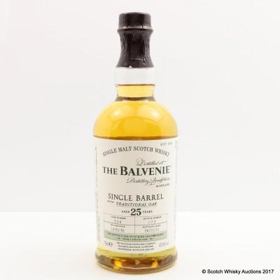 Balvenie 1990 25 Year Old Single Barrel