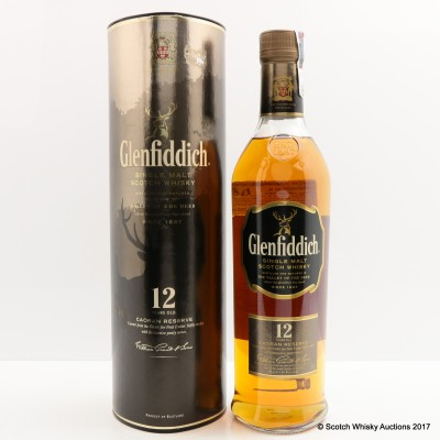 Glenfiddich Caoran Reserve 12 Year Old