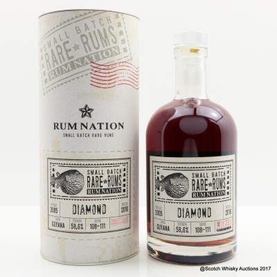 Diamond 2005 Small Batch Rum Nation