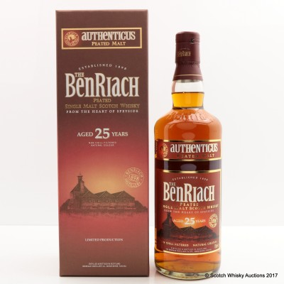 BenRiach 25 Year Old Authenticus