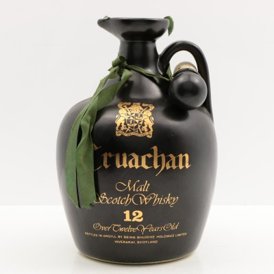 Cruachan 12 Year Old Ceramic Jug 26 2/3 FL OZ