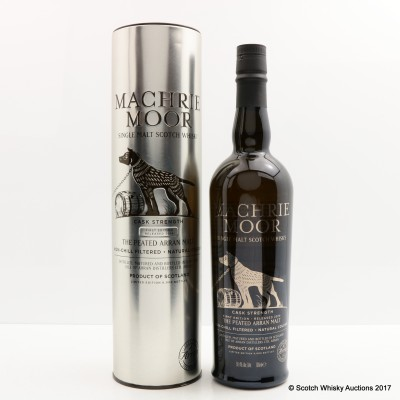 Arran Machrie Moor Cask Strength 2014 1st Edition