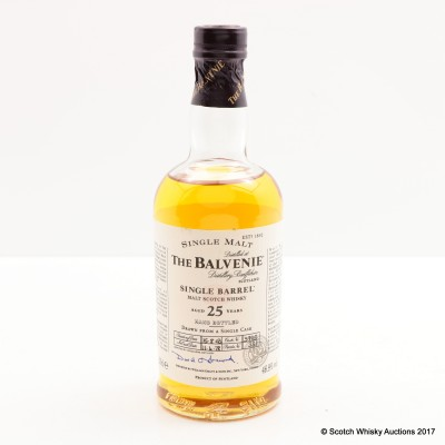 Balvenie 1978 25 Year Old Single Barrel 20cl