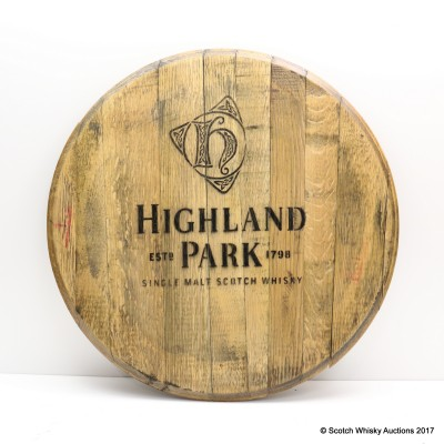 Highland Park Decorative Cask End
