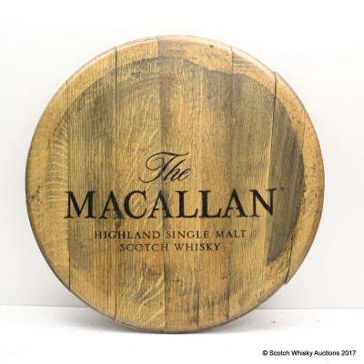 Macallan Decorative Cask End