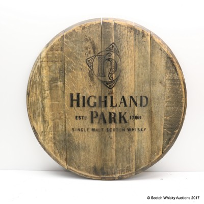 Highland Park Decorative Cask End