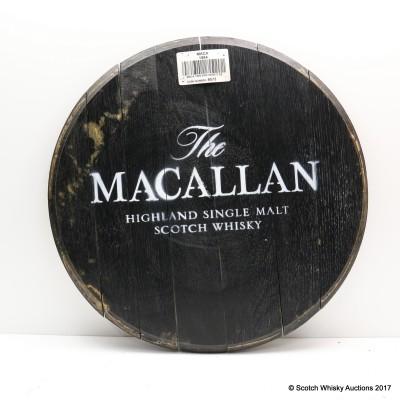 Macallan Decorative Cask End