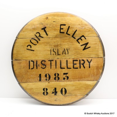Port Ellen Decorative Cask End