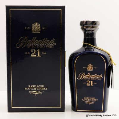 Ballantine's 21 Year Old Decanter
