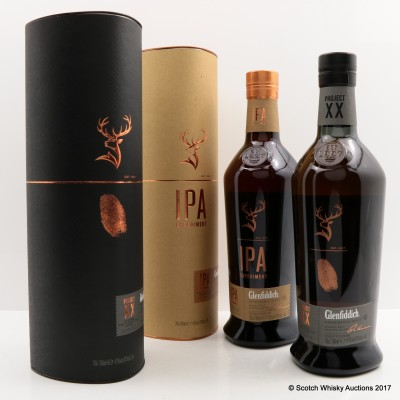 Glenfiddich IPA Experiment & Glenfiddich Project XX
