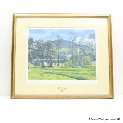 Knockdhu Distillery Framed Print