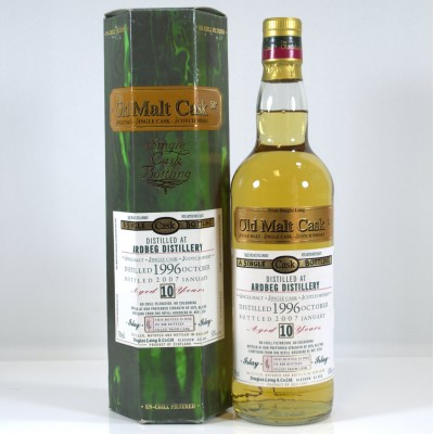 Ardbeg 1996 10 Year Old OMC