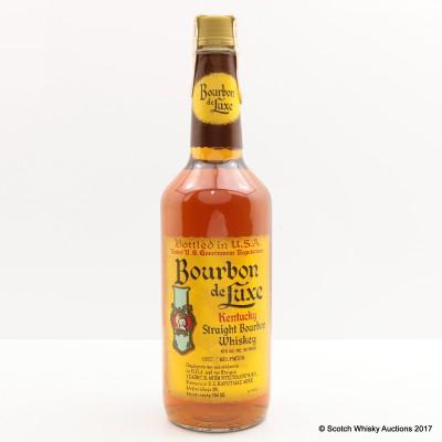 Bourbon De Luxe 4 Year Old Kentucky Straight Bourbon Whisky