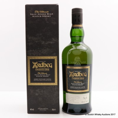 Ardbeg 21 Year Old 2016 Committee Exclusive