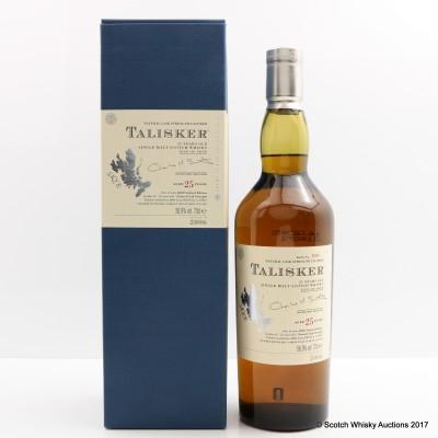 Talisker 25 Year Old 2006 Release
