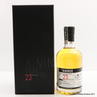 Kininvie 23 Year Old Batch #3 35cl