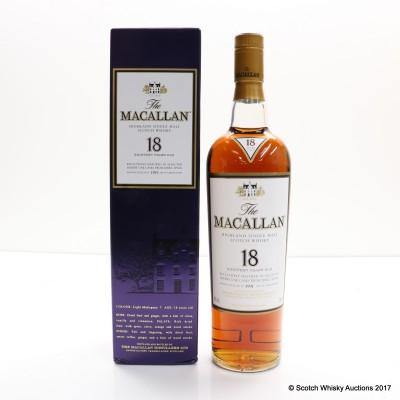 Macallan 18 Year Old 1991