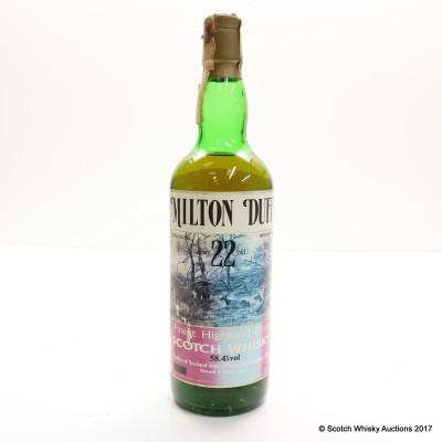 Miltonduff 1966 22 Year Old 75cl
