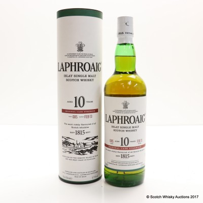 Laphroaig 10 Year Old Cask Strength Batch #5
