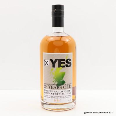 Good Spirits 23 Year Old Referendum Blend 'Yes'
