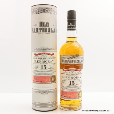 Glen Moray 1999 15 Year Old Old Particular
