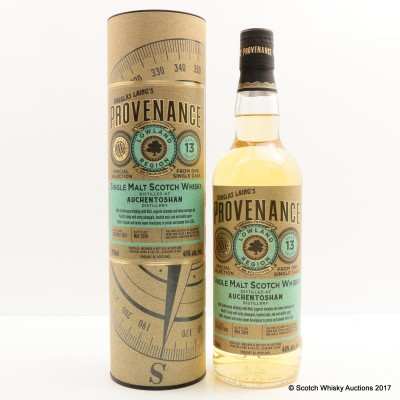 Auchentoshan 2002 13 Year Old Provenance