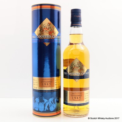 Littlemill 1985 28 Year Old Cooper's Choice