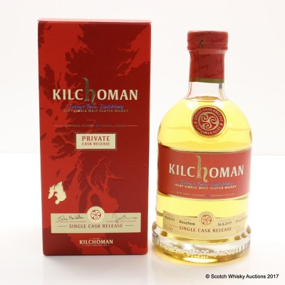 Kilchoman 2007 Single Cask Release