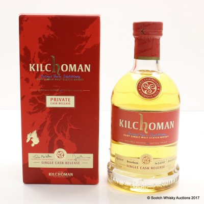 Kilchoman 2007 Private Cask Release