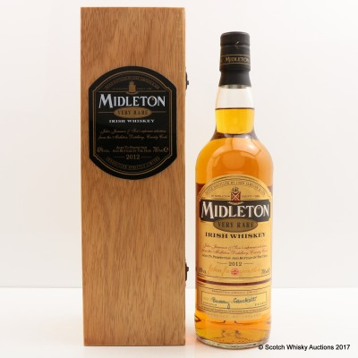 Midleton Very Rare 2012 Release