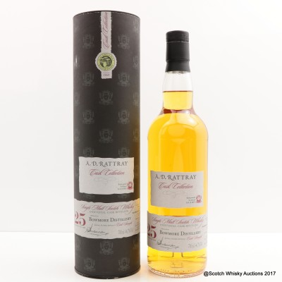 Bowmore 1989 25 Year Old A.D. Rattray