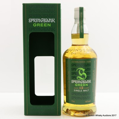 Springbank 12 Year Old Green